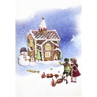 Jõulukaart Ginger Dreams