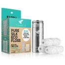 Pure Silk Eco Floss Bundle #3 Steel Holder & 3 Floss Spools