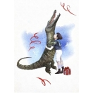 Jõulukaart Croco Hug