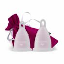 Perfect cup menstruaalanum valge M+L 2tk