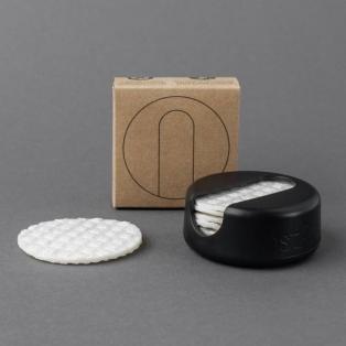 LastRound Black korduvkasutatavad kosmeetilised padjad 7tk