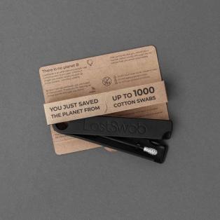 LastSwab Basic Black korduvkasutatav kõrvatikk