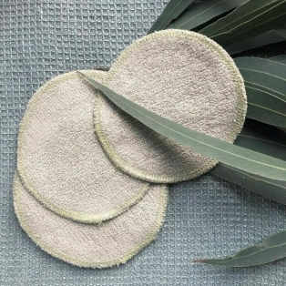 UNI Organic näopuhastuspadi Roheline
