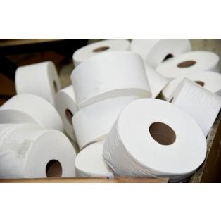 Tualettpaber, taaskasutatud, plastivaba