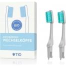 TIO bioplastikust hambaharja vahetusotsikud (hall soft)